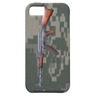 Caso del iPhone 5 de Camo del ejército de AK47 iPhone 5 Case-Mate Cárcasas