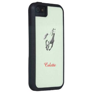 Caso del iPhone 5 de Colette con el caballo iPhone 5 Carcasas