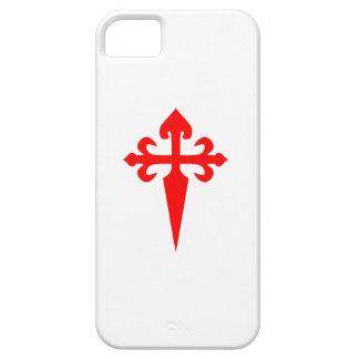 Caso del iPhone 5 de Cruz de Santiago Matamoros Funda Para iPhone SE/5/5s