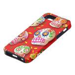 Caso del iPhone 5 de Dia De Los Muertos iPhone 5 Case-Mate Protectores