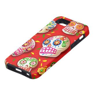 Caso del iPhone 5 de Dia De Los Muertos Funda Para iPhone SE/5/5s