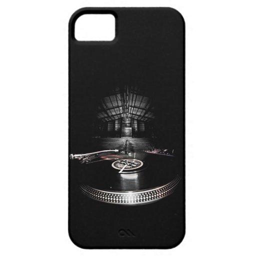 Caso del iPhone 5 de DJ del fiesta Funda Para iPhone 5 Barely There