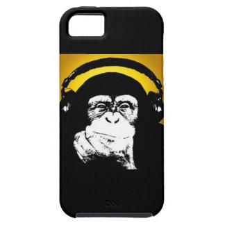 Caso del iPhone 5 de DJ del mono iPhone 5 Case-Mate Coberturas