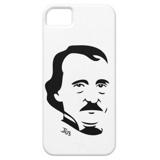 Caso del iPhone 5 de Edgar Allan Poe iPhone 5 Carcasas