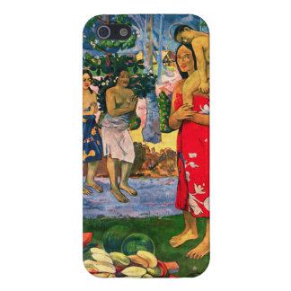 Caso del iPhone 5 de Gauguin Ia Orana Maria iPhone 5 Carcasas