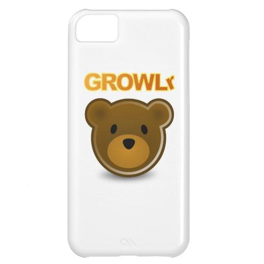 Caso del iPhone 5 de GROWLr Carcasa Para iPhone 5C