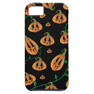 Caso del iPhone 5 de Halloween de las calabazas iPhone 5 Cárcasas