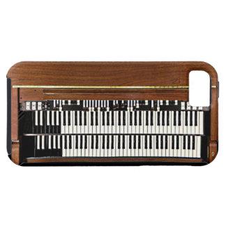 Caso del iPhone 5 de Hammond organ del vintage iPhone 5 Funda