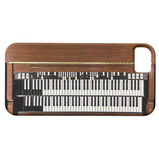 Caso del iPhone 5 de Hammond organ Funda Para iPhone SE/5/5s