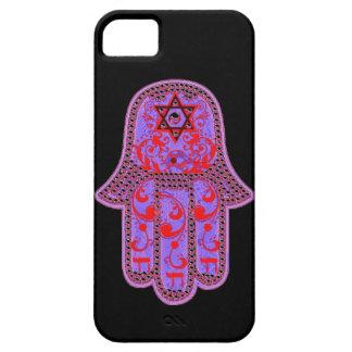 Caso del iphone 5 de Hamsa apenas iPhone 5 Case-Mate Protectores