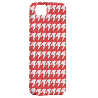 Caso del iPhone 5 de Houndstooth Funda Para iPhone 5 Barely There