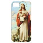 Caso del iPhone 5 de Jesús y de las ovejas Funda Para iPhone SE/5/5s