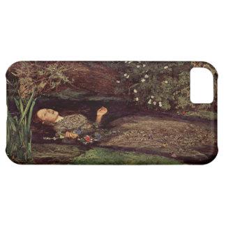 Caso del iPhone 5 de John Everett Millais Ofelia Funda Para iPhone 5C