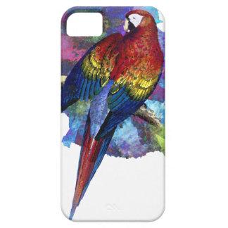 Caso del iPhone 5 de la acuarela del pájaro de iPhone 5 Carcasa