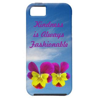 Caso del iPhone 5 de la amabilidad del pensamiento Funda Para iPhone 5 Tough
