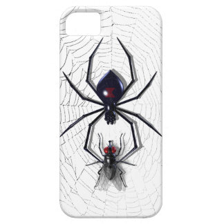 Caso del iPhone 5 de la araña y de la mosca iPhone 5 Protectores
