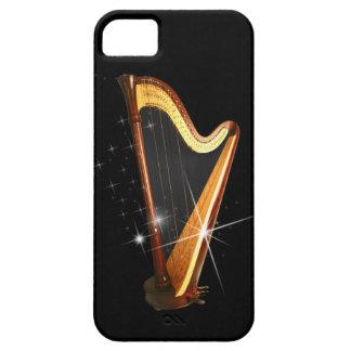 Caso del iPhone 5 de la arpa del pedal iPhone 5 Fundas