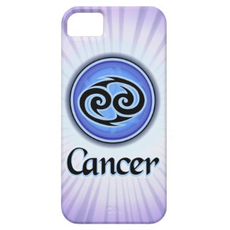 Caso del iPhone 5 de la astrología del cáncer iPhone 5 Carcasa