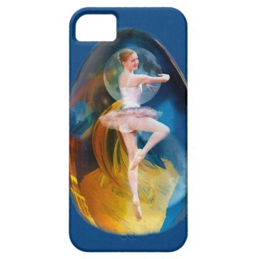 Caso del iPhone 5 de la bailarina del fractal de l iPhone 5 Cárcasa
