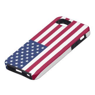 Caso del iPhone 5 de la bandera americana iPhone 5 Carcasa