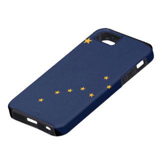 Caso del iPhone 5 de la bandera de Alaska iPhone 5 Case-Mate Cárcasas