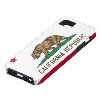 Caso del iPhone 5 de la bandera de California iPhone 5 Protector