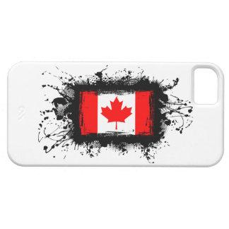 Caso del iPhone 5 de la bandera de Canadá iPhone 5 Case-Mate Protectores