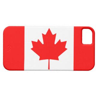 Caso del iPhone 5 de la bandera de Canadá iPhone 5 Cárcasa