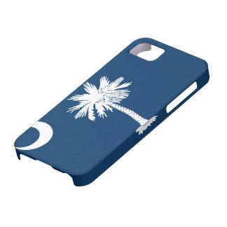 Caso del iPhone 5 de la bandera de Carolina del Su iPhone 5 Case-Mate Cobertura