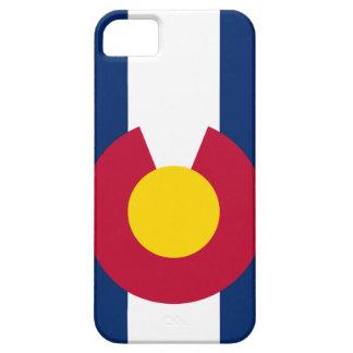 Caso del iPhone 5 de la bandera de Colorado iPhone 5 Case-Mate Fundas