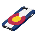 Caso del iPhone 5 de la bandera de Colorado iPhone 5 Case-Mate Carcasas