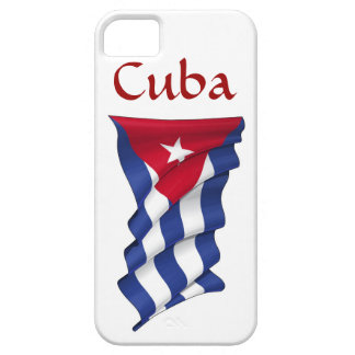 Caso del iPhone 5 de la bandera de Cuba Funda Para iPhone 5 Barely There