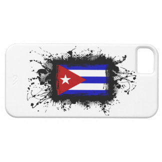 Caso del iPhone 5 de la bandera de Cuba iPhone 5 Fundas