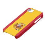 Caso del iphone 5 de la bandera de España Funda Para iPhone SE/5/5s