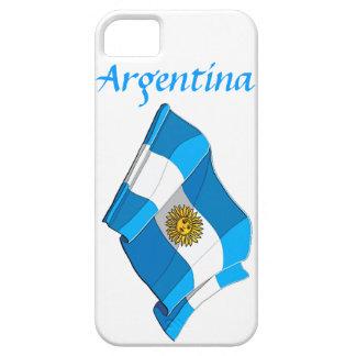 Caso del iPhone 5 de la bandera de la Argentina iPhone 5 Carcasa
