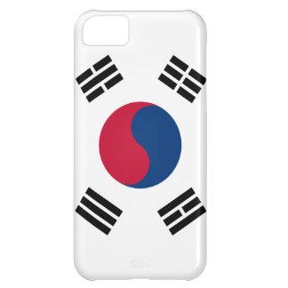 Caso del iphone 5 de la bandera de la Corea del Su