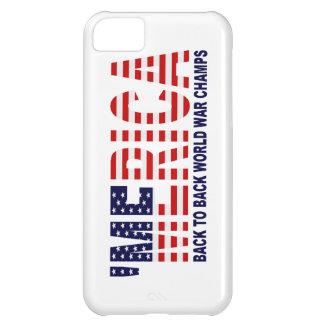 'Caso del iPhone 5 de la bandera de los E.E.U.U. d Funda Para iPhone 5C