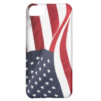 Caso del iPhone 5 de la bandera de los E.E.U.U.