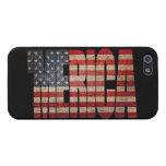Caso del iPhone 5 de la bandera de MERICA E.E.U.U. iPhone 5 Carcasa