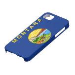 Caso del iPhone 5 de la bandera de Montana iPhone 5 Case-Mate Cobertura