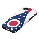 Caso del iPhone 5 de la bandera de Ohio iPhone 5 Case-Mate Protectores