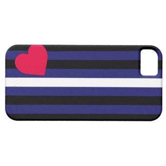 Caso del iPhone 5 de la bandera de orgullo de cuer iPhone 5 Case-Mate Coberturas