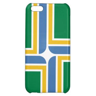 Caso del iPhone 5 de la bandera de Portland Oregon
