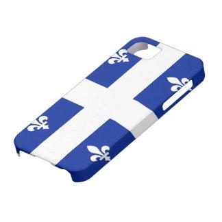 Caso del iPhone 5 de la bandera de Quebec iPhone 5 Cárcasa