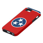 Caso del iPhone 5 de la bandera de Tennessee iPhone 5 Case-Mate Carcasas
