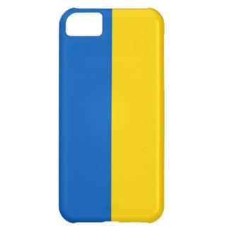 Caso del iphone 5 de la bandera de Ucrania
