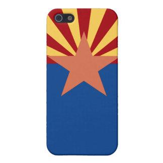 Caso del iPhone 5 de la bandera del estado de Ariz iPhone 5 Funda