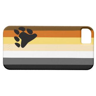 Caso del iPhone 5 de la bandera del oso iPhone 5 Fundas