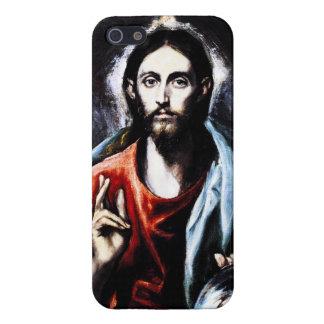 Caso del iPhone 5 de la bendición de El Greco Cris iPhone 5 Carcasas
