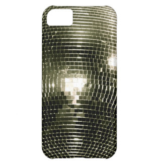 Caso del iPhone 5 de la bola de discoteca
